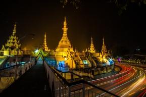 Sule Pagoda--Yangon, Myanmar